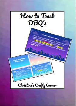How to Teach DBQ's