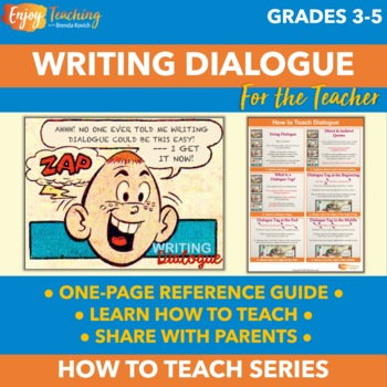 How to Teach Dialogue for Narrative Writing