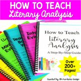 How to Teach Literary Analysis Writing - The Complete Step-By-Step Guide