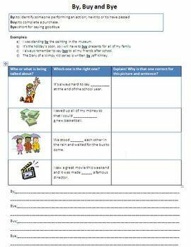How to Teach Homonyms - ELA Skills
