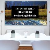 How to...Teach 'Into the Wild' - Film Study Editable PPT