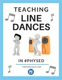How to Teach Line Dances in Physical Education  Dance Steps Cheat Sheet for PE 