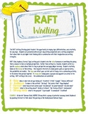How to Teach RAFT Writing As Professional Development and/