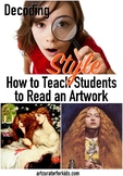 How to Teach Style in Art