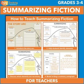 How to Teach Summarizing Fiction