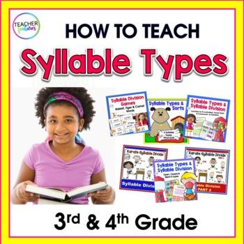 Syllable Types | BIG Bundle