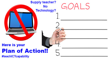 How to Teach Technology without Technology in the Classroom - Plan of Action!!