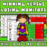 How to Teach Winning versus Losing: Good Sport Rules Visuals Autism, Aspergers