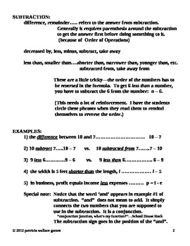 How to Teach  Word Problems part 1