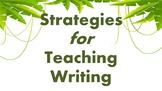 How to Teach Writing, Teacher Training Presentation - Engl