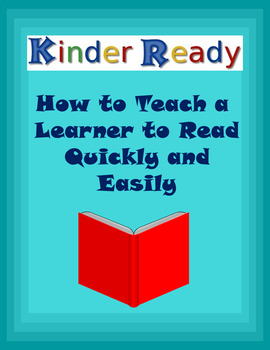 How to Teach a Learner to Read Quickly and Easily