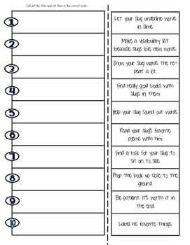 How to Teach a Slug To Read {How-to-Writing and Craft}