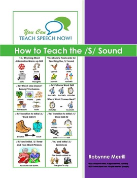 How to Teach the /S/ Sound: Free Sample