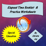 Elapsed Time booklet and practice worksheets
