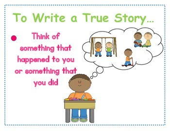 How to Tell a True Story: Narrative Writing in the Primary Classroom