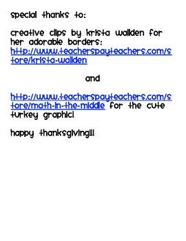 How to Thanksgiving Turkey Writing