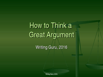 How to Think an Argument