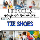 How to Tie Your Shoes Life Skill Anytime Activity | Life S