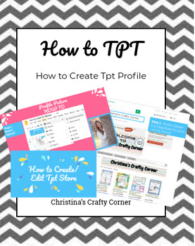 How to Tpt Lesson: Profile Picture