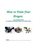 How to Train Your Dragon Novel Unit