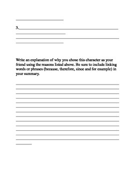 How to Train Your Dragon Opinion Writing Worksheet