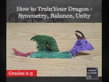 How to Train Your Dragon; Paper Plate Dragons- Elementary Art Lesson
