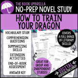 How to Train Your Dragon Novel Study
