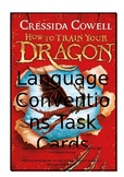 How to Train your Dragon - Language Conventions Task Cards