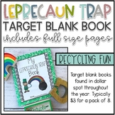 How to Trap a Leprechaun Blank Target Book