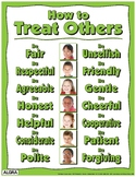 How to Treat Others Poster - PBIS