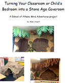 Turn Your Classroom/Bedroom into a Stone Age Caveroom ~ Reading Lesson Plan