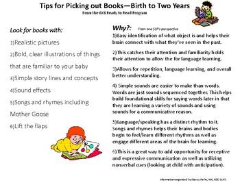 How to Use Books to Encourage Language Development