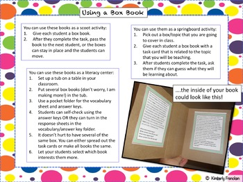 Create a quick and Engaging Literacy Center