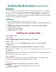 How to Use Domain-specific Vocabulary in Expository Writing (ReadyGen 3.A.14)