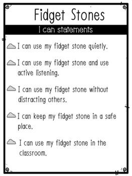 How to Use Fidget Stones