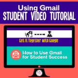 How to Use Gmail Student Video Tutorial Great for Distance