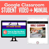 How to Use Google Classroom Student Manual & Tutorial Vide