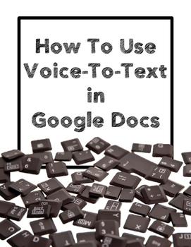 Google Docs Voice-To-Text Handout