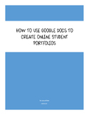How to Use Google Docs to Create Online Student Portfolios