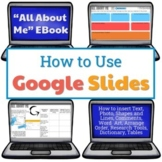 How to Use Google Slides - All About Me EBook Distance Learning