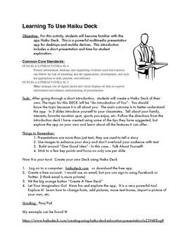 How to Use Haiku Deck