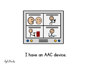 How to Use My Voice (An AAC social story)