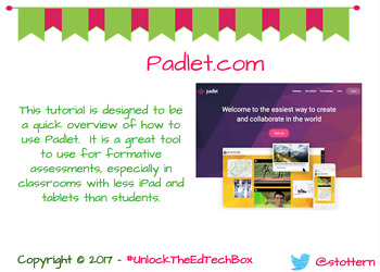 How to Use Padlet - A Great Formative Assessment Tool!