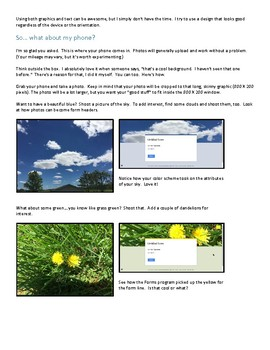 How to:  Use Photos for Google Form Headers