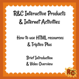 Interactive Resources How To