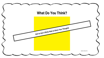 How to Use Sticky Notes to Share Your Thoughts