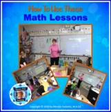 How to Use These Math Lessons