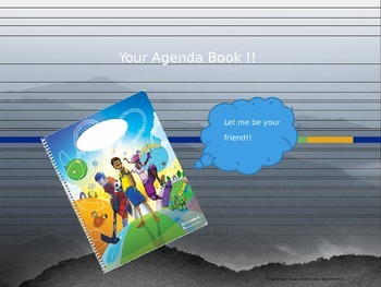 How to Use Your Agenda Book - PowerPoint