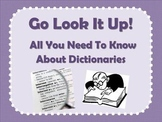 How to Use a Dictionary Mini-Lesson PowerPoint