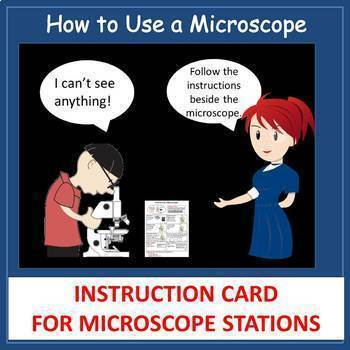 Microscope Instructions - Use and Focusing